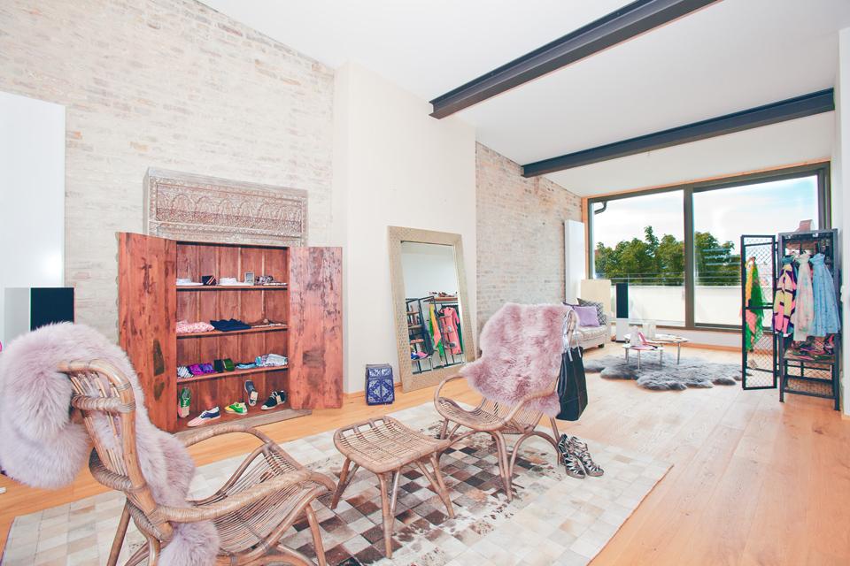 Loft Wohnung : Roof-Top - Studio Dachterrasse in Kreuzberg 4 ...