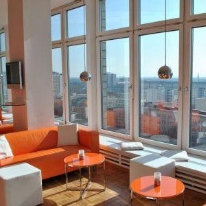 Dachgeschoss Studio Loft mit traumhaftem Blick über die Dächer von Berlin