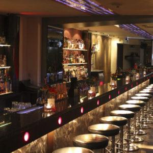 Bartresen unserer Cocktailbar in Wilmersdorf