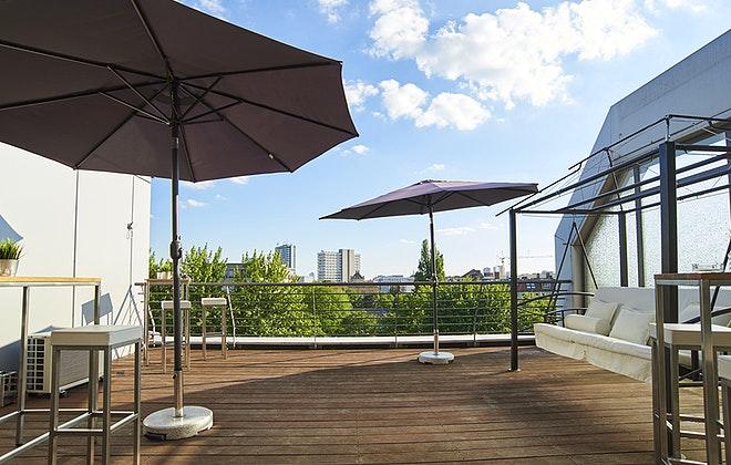 Dachterrasse / Rooftop Location für Events in Charlottenburg