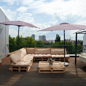 Event Location Terrasse in Berlin Charlottenburg