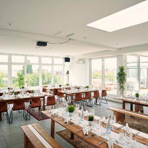 Rooftop Eventlocation Dinner in Berlin Charlottenburg