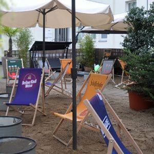 Partyraum mit Außenbereich in Charlottenburg